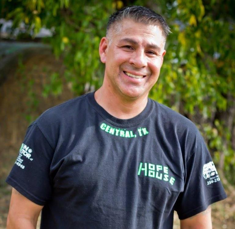 Hope House Assistant Director  Jason Guiterrez  (254) 386-6556