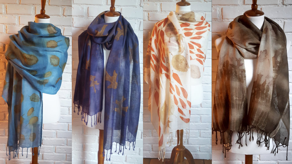 ecoprinted wool scarves.jpg