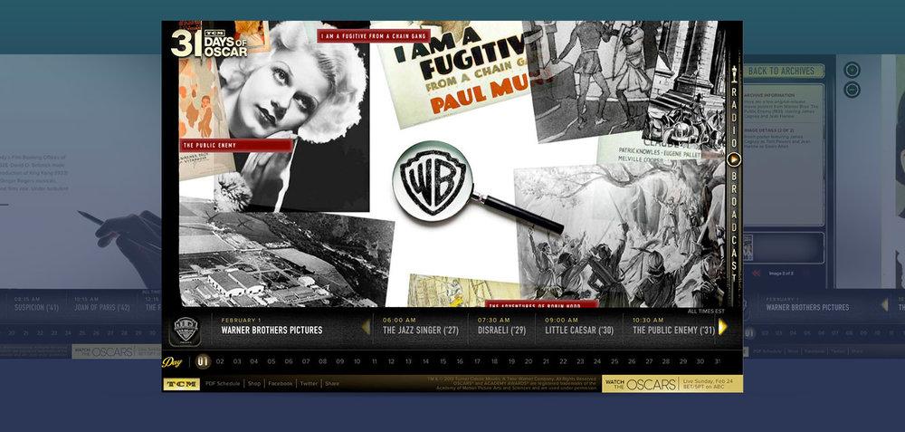 2013 TCM Site Homepage