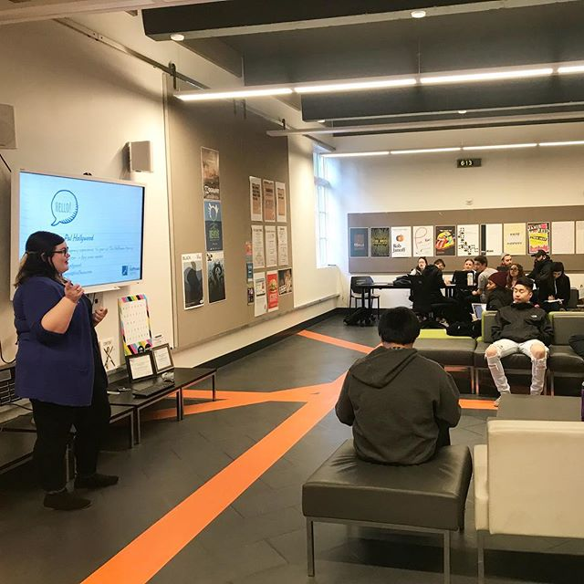 Thank you to Pal for leading us in a pitching workshop yesterday! We learned so much from her and can't wait to take the knowledge we gained into our careers one day. We are so proud of our members for participating and working hard on professional development.  #HoffmanAgency #PRSSA #PR #Pitching #MediaRelations