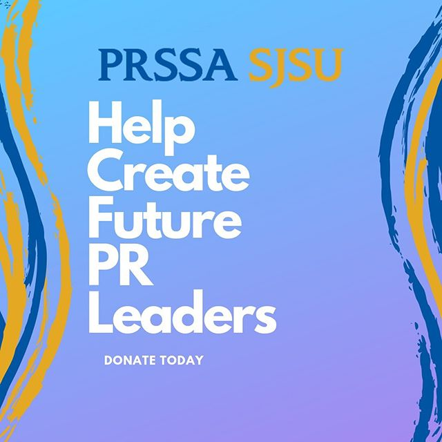 PRSSA is so excited for San Diego! By attending the conference, our members will expand their network and learn how to thrive in their profession. Please consider donating to our conference fund so that all of our members can attend. Click the link in bio to donate today!⬆️ #sjsu #PR #PRSSA
