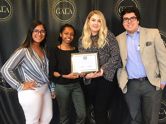 WE WON!!!! PRSSA SJSU is so happy, honored and proud to be recognized as Executive Board of the Year at the 2019 Student Leadership Gala, hosted by Student Involvement, Student Affairs and Associated Students at #SJSU!  Our entire board worked tirelessly to make this the best year yet. Collaborating to create professional development opportunities for our 60+ members, we planned company tours, brought in speakers for professional development workshops, panels, Q+A sessions, resume and LinkedIn workshops.  Our board also has done an outstanding job in bringing in $13,000+ through fundraising initiatives and partnering with foundations and companies for donations. This funding has been allocated to our amazing members for future professional development opportunities, including international conferences, for 2019-2020.  Congratulations to the #PRSSA 2018-2019 Executive Board and thank you to our members for motivating us to achieve success every day! 🎉 #SpartanUp