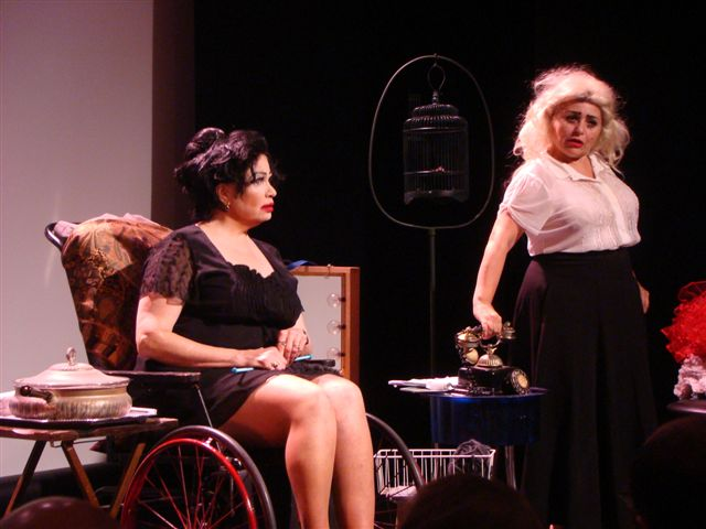 What Ever Happened to Baby Jane? - Theatre 80 st. marks, 2012 Featuring Brenda Bergman, Penny Arcade, Sweetie, Steve Hayes, David Ilku, Rosa Curry, Brini Maxwell, Wesleigh Urich, Annika Jennie SheridanDirected by Kevin Malony