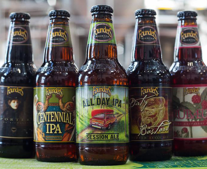 BREWED FOR US:  FOUNDERS BREWING CO.  PR, Digital