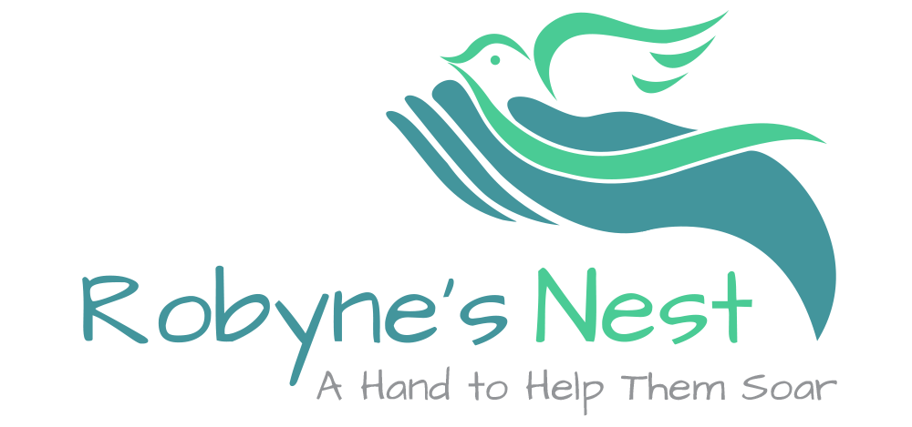 We proudly give a portion of the proceeds to help Robyne's Nest aid homeless and at-risk teens finish school!