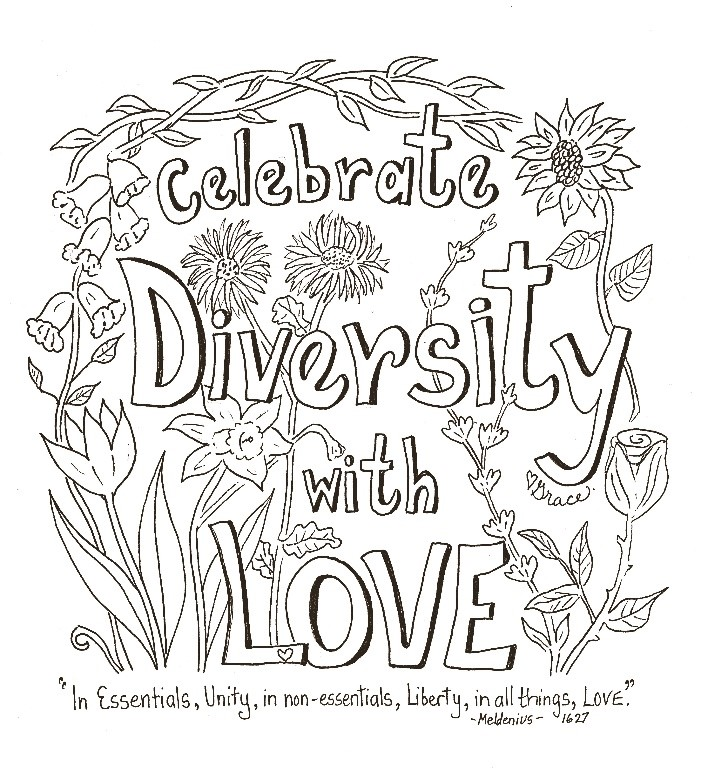 Our Beautiful Diversity - May 6, 2018 Grace WulffGal. 3:26-28/ 1 Cor. 12:12-14