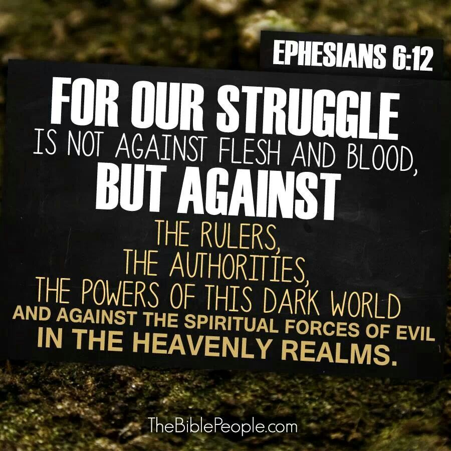 The Real Struggle - March 10, 2019 Randy Hamm Ephesians 6:10-13Paul wants us to remember where the bigger struggle is as we seek to see God's Kingdom in the midst of everyday realities.