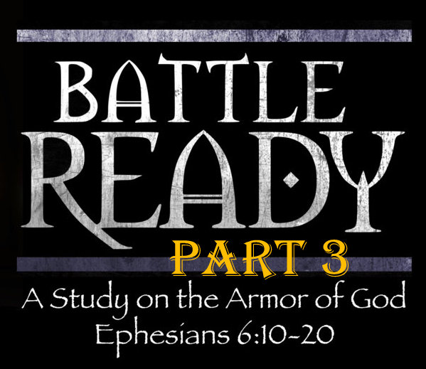 The helmet and Sword - March 31, 2019 Randy HammEphesians 6 & Romans 8Paul goes through the importance of Salvation to the first attacking armour - the Word of God.