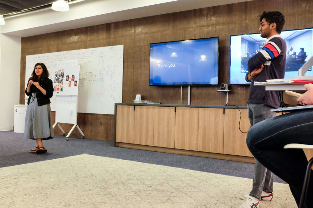 Project demo day for 2017 summer design interns
