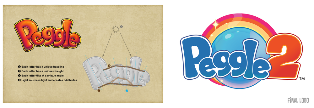 The original logo needed redesigning and updating. I noted my concerns with the original (left) to the Creative Department and they produced the final logo (right).