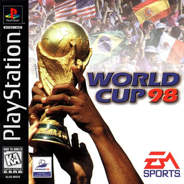 FIFA World Cup 98 (1998). UI Design Lead, PlayStation.