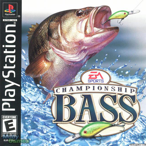 Championship Bass (2000). UI Design Lead, PlayStation.