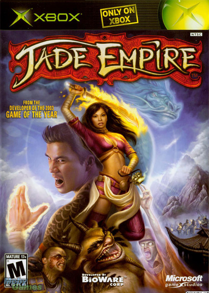 Jade Empire (BioWare, 2005). Publishing Art Director, Xbox.