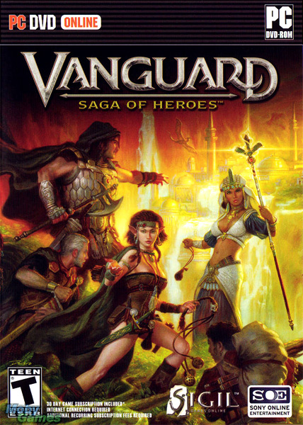 Vanguard: Saga of Heroes (Sigil Games Online, 2007). Publishing Art Director, Windows PC. note: this title was ultimately released by Sigil and Sony Online Entertainment