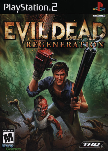 Evil Dead: Regeneration (2005). Art Manager, Xbox, PlayStation 2, and Windows PC.