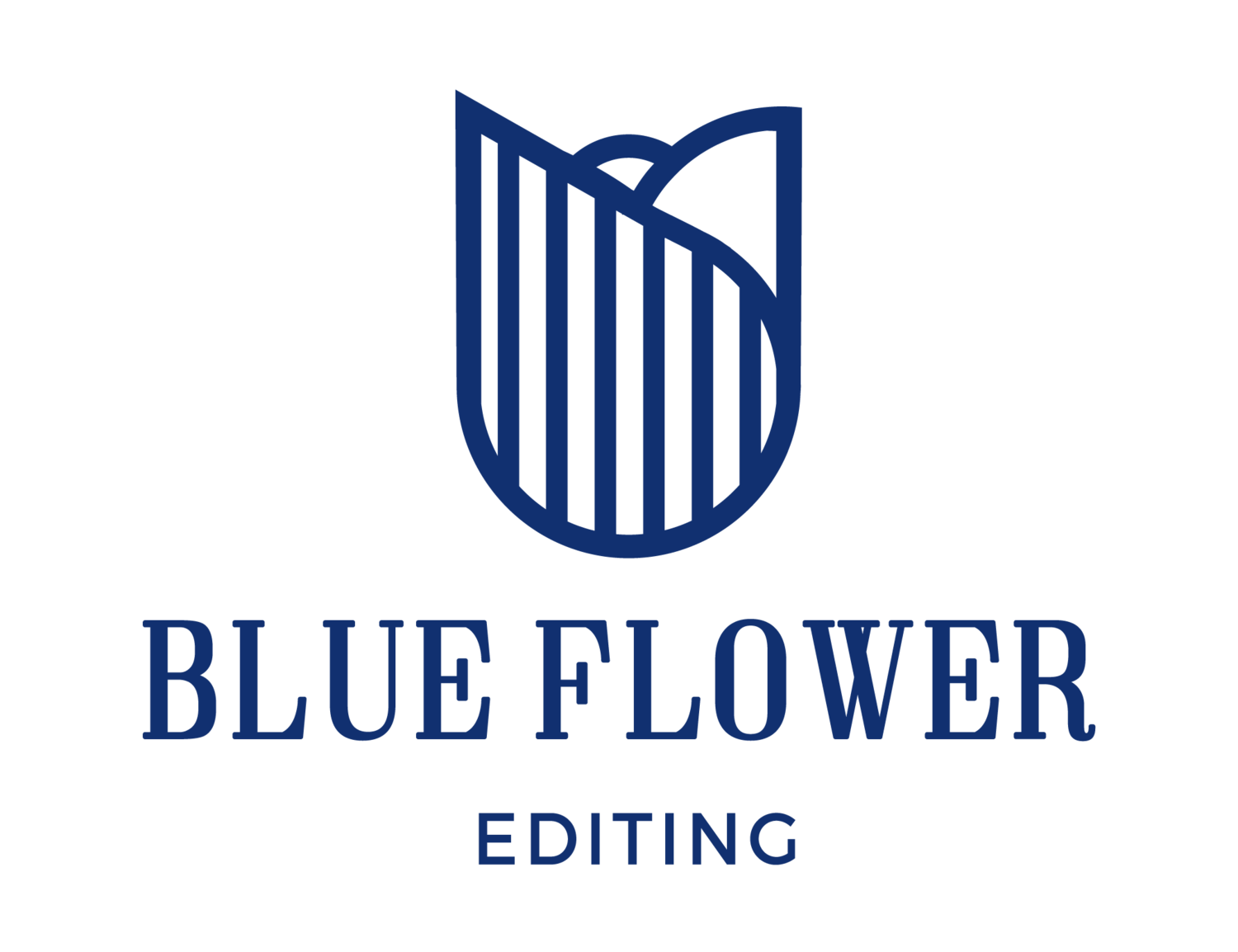 Blue Flower Editing