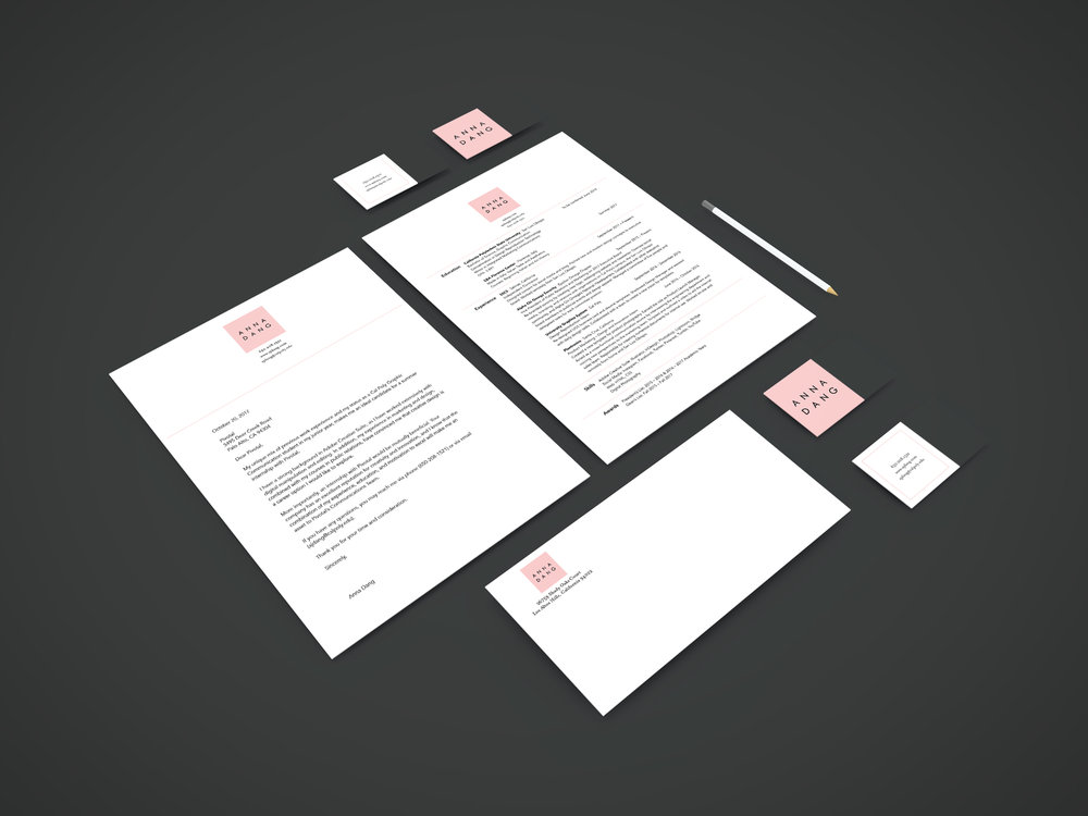 personal identity — Anna Dang
