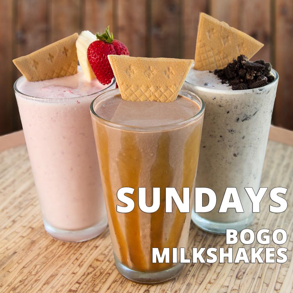 Sundays BOGO 1/2 OFF Milkshakes .png