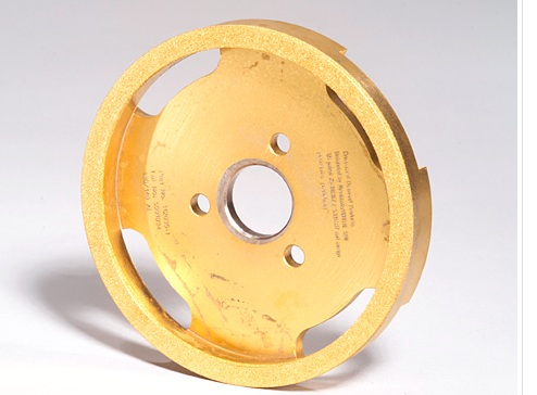 PROVIDING SOLUTIONS SINCE THE '80'S - PATENTED THIS SUPER ABRASIVE ELECTROPLATED WHEEL FOR AEROSPACE GRINDING IN THE '80'S