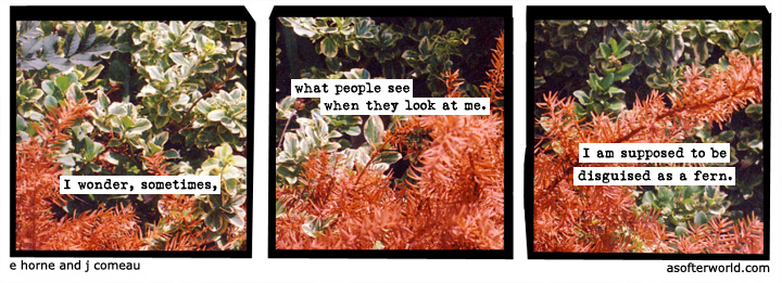 We love A Softer World - they put things ever so succinctly.