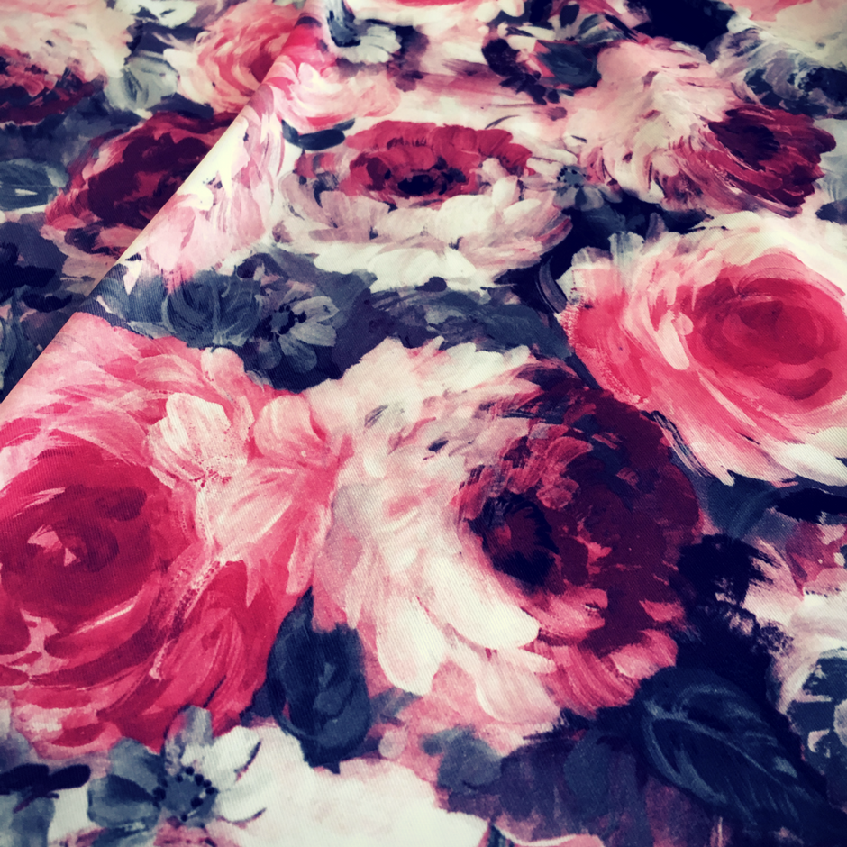 Rose prints are always popular...