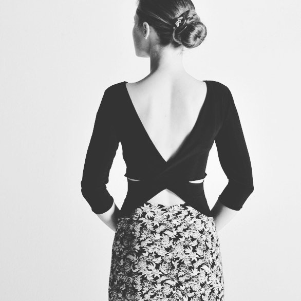 Open back top by Colección Berlin