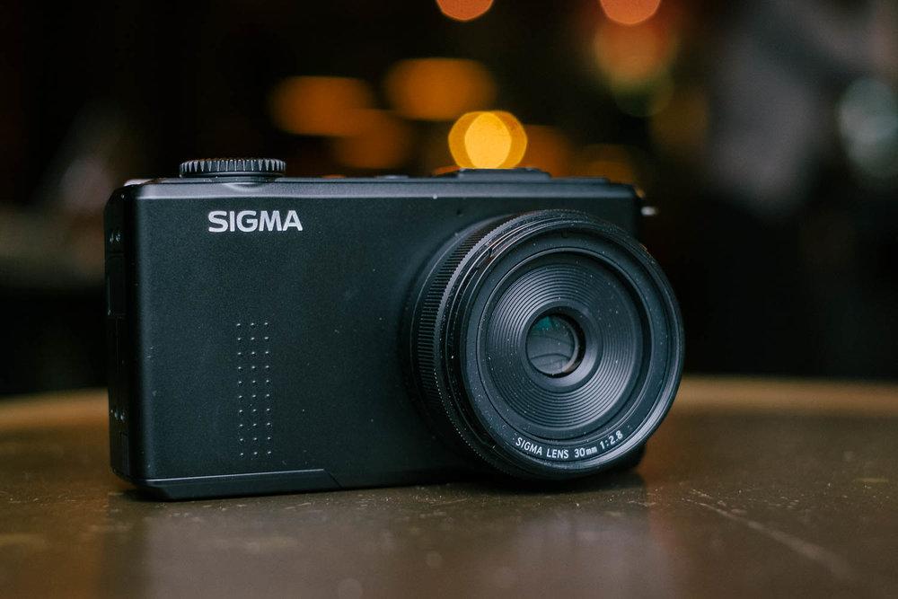 Sigma DP2 Merrill front shot. Fuji X-Pro1, Fujinon 35mm f/1.4.
