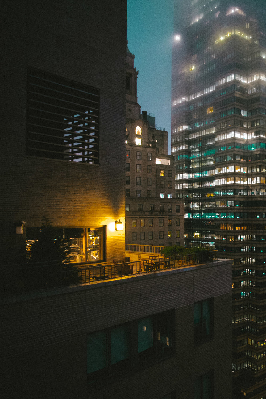 Wall Street Manhattan. Fujifilm X-pro1, Rokinon 12mm f/2. 1/30 @ f/2 ISO 1000