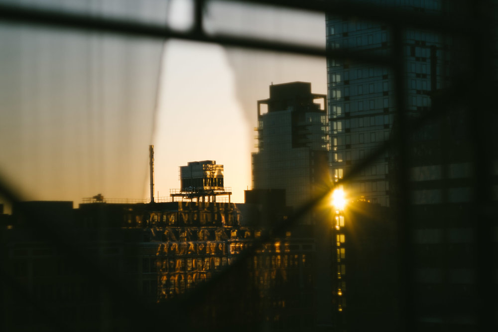 Sunset in Midtown. Fuji X-Pro 1, Helios 44-4