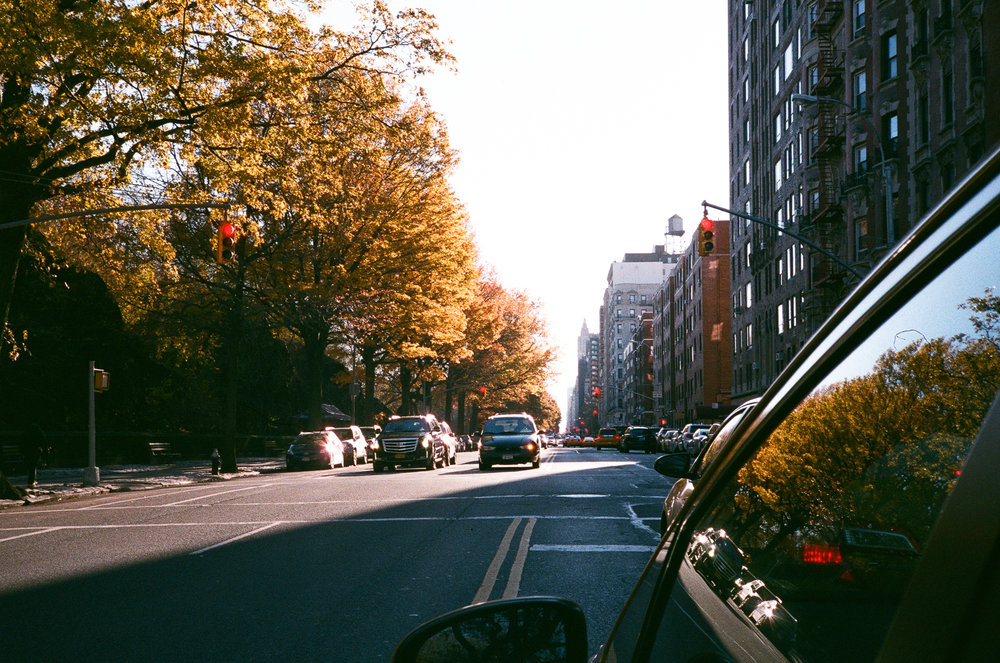 New York on Thanksgiving day. Yashica T2, Fuji Xperia X-Tra 400.