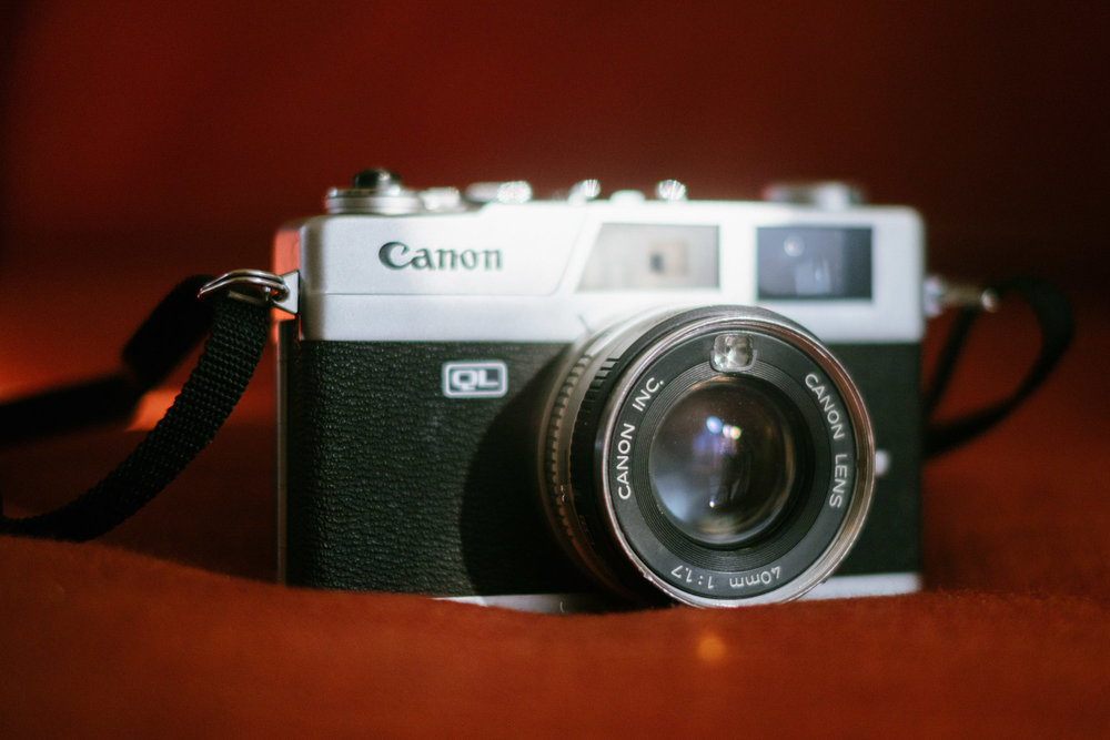 The Canonet QL 17. Fuji X-Pro1, Fujinon 35mm f/1.4.