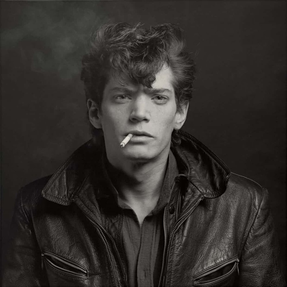 Self-Portrait, 1980 – Robert Mapplethorpe