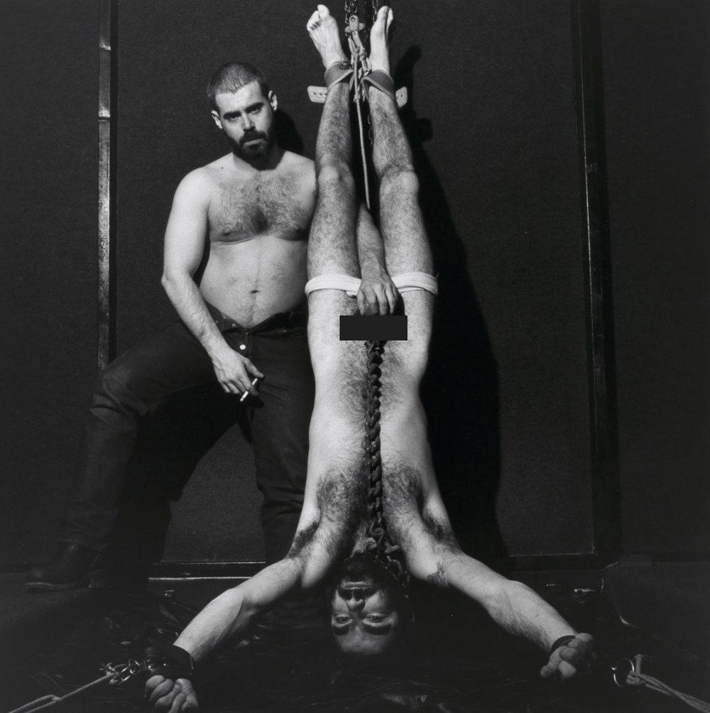 Dominick and Elliot 1979 – Robert Mapplethorpe (Censored)
