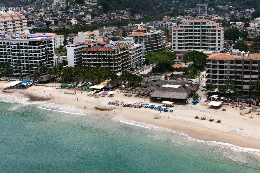 Puerto Vallarta from above. Canon 5D Mark II, Canon 50mm f/1.2.
