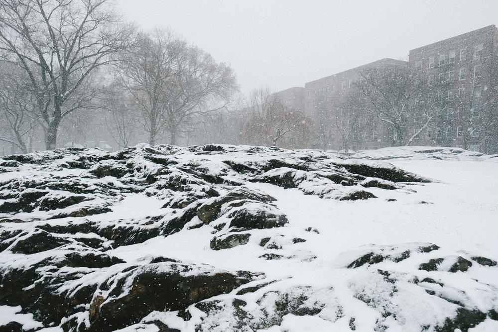 A park in Washington Heights, Manhattan. Fuji X-Pro 2, Fuji 16mm f/1.4.
