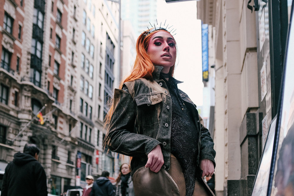 BibleGirl in Korea Town, Manhattan. Fuji X100F