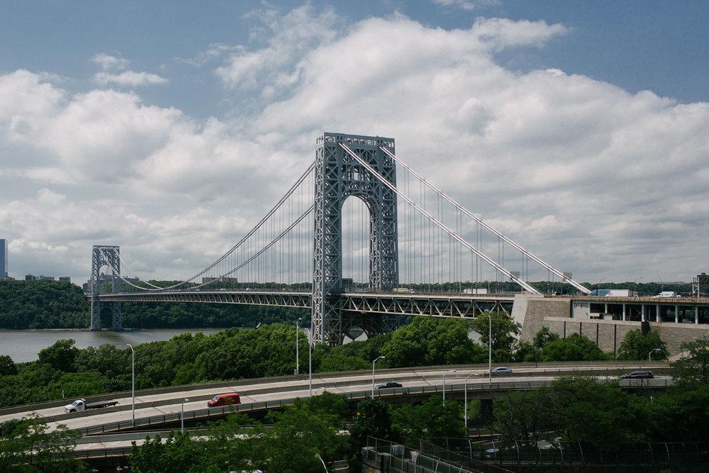 George Washington Bridge. Canon 6D, Canon 35mm f/1.4 L USM