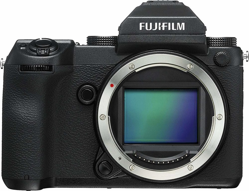 Fuji GFX 50S - Ok, this isn't your every day camera. But for what it is, it's surprisingly well-priced – and in terms of sheer image quality, this camera is unbeatable by almost any other consumer camera in production.The Fuji GFX 50S is currently the only medium format camera in the Fuji line up – which makes sense, considering how niche it is. It has it's own lens mount, which means you'll need to invest in specialty medium-format Fuji lenses if you pick this beast up. It's also the largest and most unwieldy Fuji camera. Form factor wise, it's like a chunkier DSLR.But the photographers who use the Fuji GFX 50S aren't concerned with an extra few pounds of weight, or a new lens system. Photographers who are willing to invest thousands into this camera are rewarded with mind-blowing detail, image resolving, color rendering, dynamic range, and oh – the ISO performance is otherworldly.If image quality is your top priority and you've got money to invest, this is the camera for you.