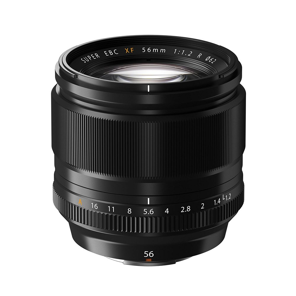 Fuji 56mm f/1.2 - Are you primarily a studio or indoor portrait photographer? This lens could be your new best friend.The Fuji 56mm f/1.2 has a dazzling fast aperture, currently unmatched by any other lens in their lineup. The glass is sharp as they come, and the bokeh renders identically to the 90mm f/2.With an equivalent 86mm focal length, you won't find much distortion here on even the tightest head shots – and the comparatively wide field of view afforded by the mid-telephoto focal length allows you to get much more creative with your compositions at a closer distance.It's not all perfect – the 56mm f/1.2 has a slower autofocus than the 90mm or the 80mm. But in a controlled setting, you won't really mind that – or the lack of weather sealing.For a cheaper, slower, blurrier manual focus version of this lens – that, surprise, we actually prefer shooting with – check out the Helios 56mm f/2.