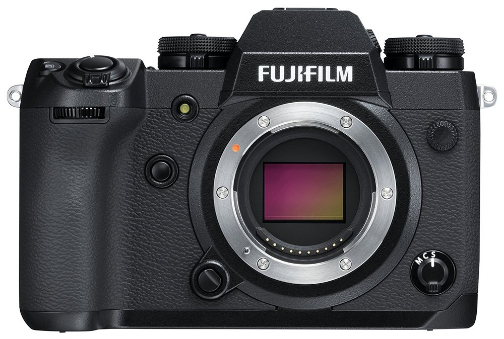Fuji X-H1 - Specs: APC-S Sensor, 24.3MP, 4K Video, IBISWho's it for? Videographers who prioritize image quality, sharpness, and color out of the box.