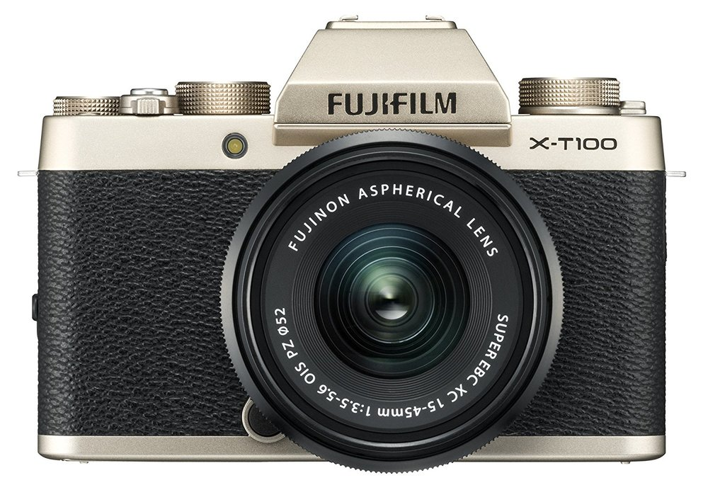 Fuji X-T100 - Specs: APC-S Sensor, 24.3MPWho's it for? Photographers on a budget looking for a capable mirrorless camera with a strong lens line-up.