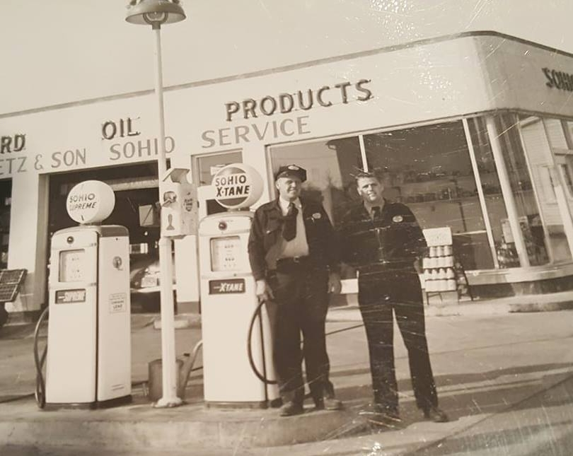 Our History - In 1947, Luther Dietz started a gas station business.  His son, Norman Dietz, followed his father's footsteps after returning from Korea where he served his country.  In the early 60's they expanded into the Towing Business.  Doug, Norm's son, would later take over the business.Dietz.  Towing Since 1952.