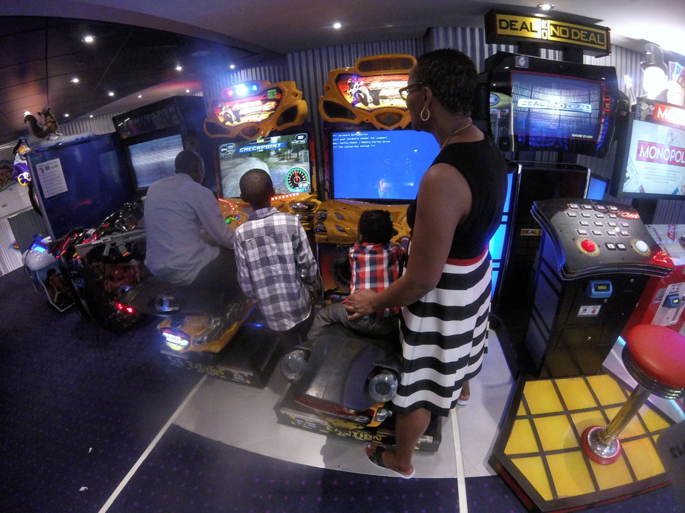 Cruise Ship Arcades and Games