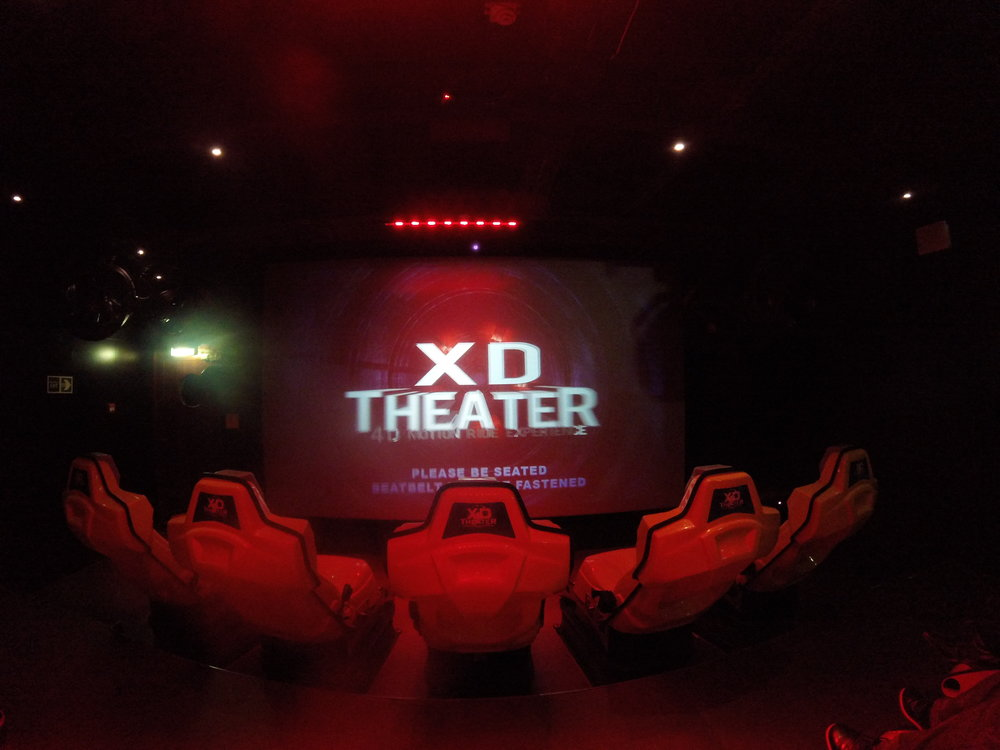 Cruise Ship XD/4D Theater