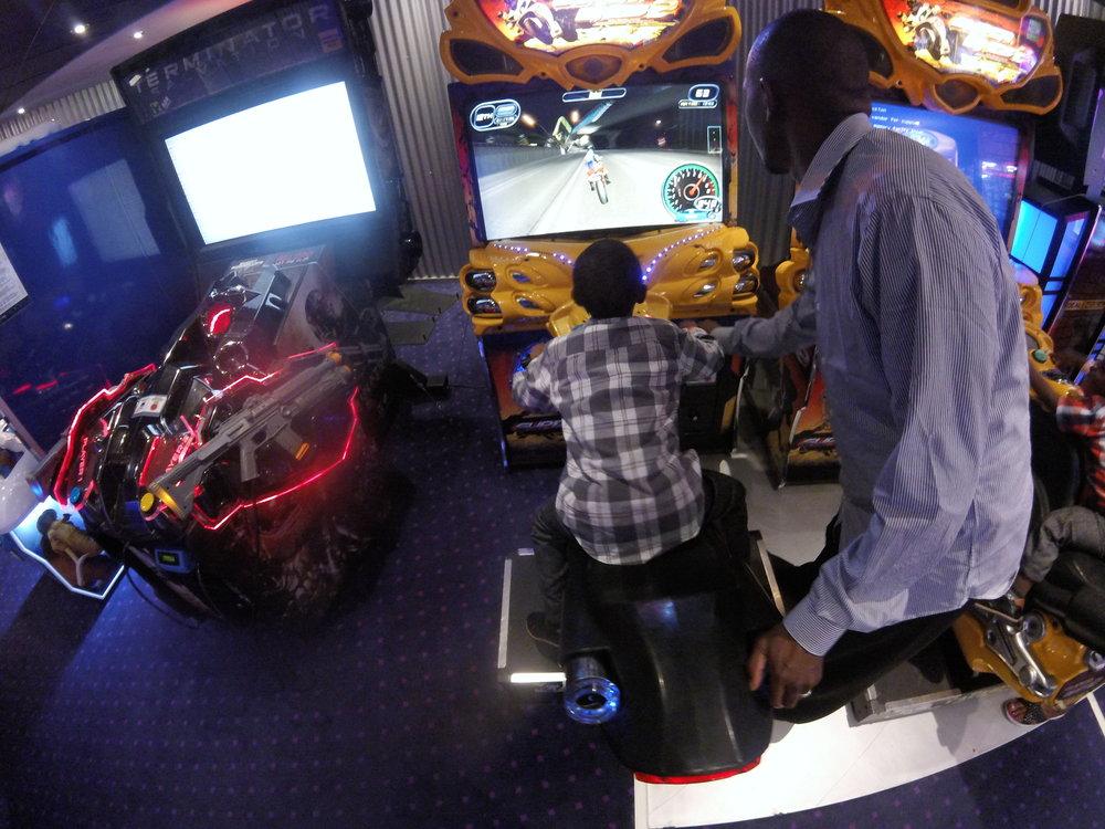 Cruise Ship Arcades and Games