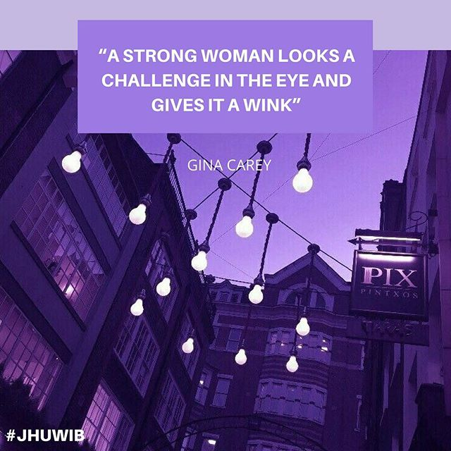 What are some goals you've decided to set for this upcoming year? #jhuwib