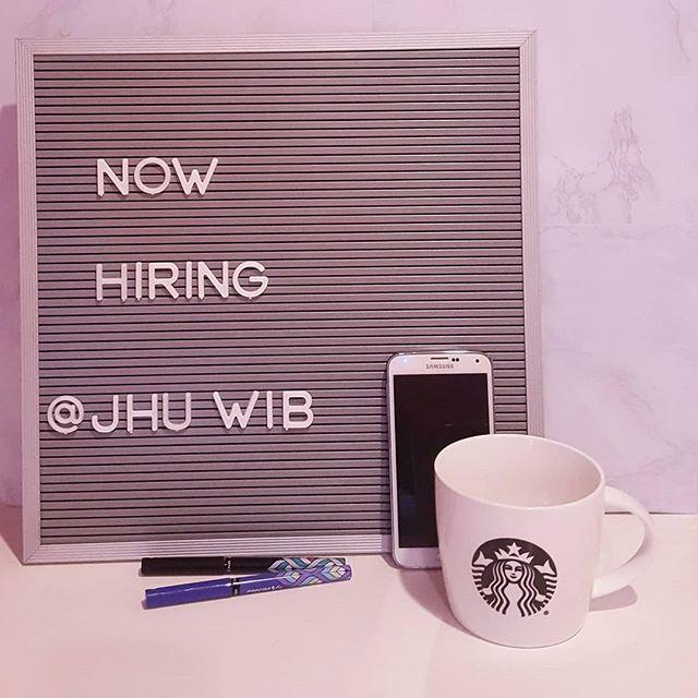 We're hiring!! Application link in bio 💼