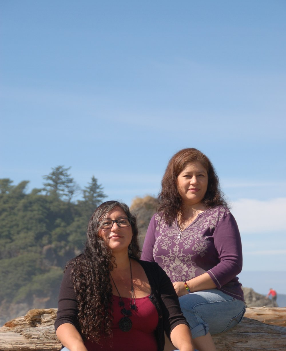 Us at Ruby Beach