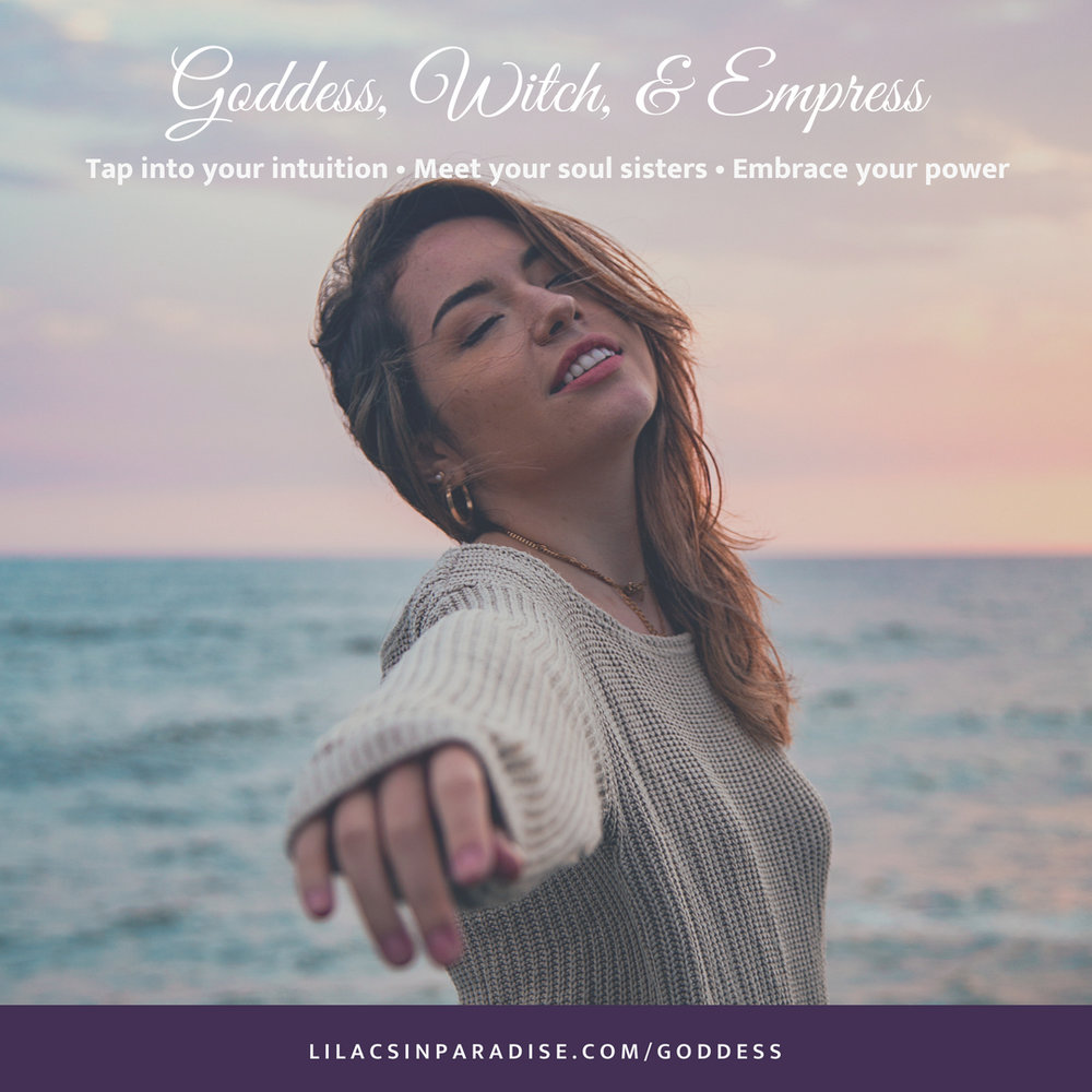 Welcome to the Goddess Gateway Program - Currently Enrolling for the October session to begin Halloween 2018!This is a 3-day group coaching program for women who want to learn about:- The Goddess, Witch, and Empress stories you learned as a child and how these archetypes may have shaped your beliefs over the years- How to connect with and trust your intuition in everything you do- How to open up to every aspect of yourself without fear or judgement