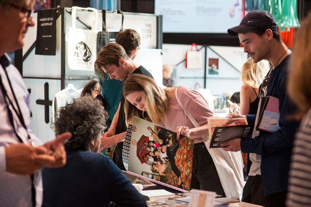 Melbourne Art Book Fair 2017. Photo: Tobias Titz